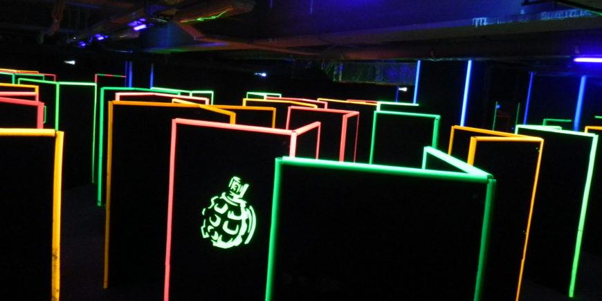 Недорого отметить день рождения в лазертаг
